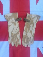 ## NEW ## LEATHER DESERT CAMO PADDED GLOVES
